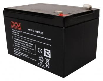 Аккумуляторы для ИБП Аккумулятор Powercom PM-12-12, вид 1