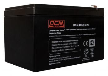 Аккумуляторы для ИБП Аккумулятор Powercom PM-12-12, вид 2