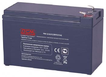 Аккумуляторы для ИБП Аккумулятор Powercom PM-12-6.0, вид 1
