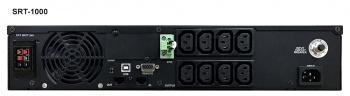 Для серверов и сетей SRT-1000A – SRT-3000A (PF=0.9), вид 3