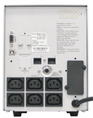 Для серверов и сетей SMK-2500A – SMK-3000A, вид 4