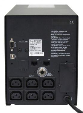 Для серверов и сетей SKP-500A – SKP-3000A, вид 6