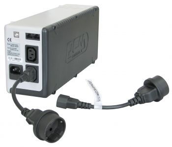Аксессуары Переходник с компьютерной на евророзетку Cord PCM SCUT IEC320 to Type-F, вид 8